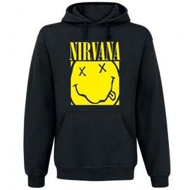 Sweat Shirt à Capuche Nirvana Box Smiley