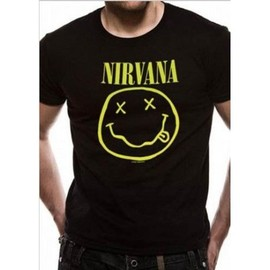 T-Shirt Homme Nirvana - Smiley