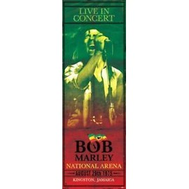 BOB MARLEY CONCERT PORTE TAILLE AFFICHE CPP20180
