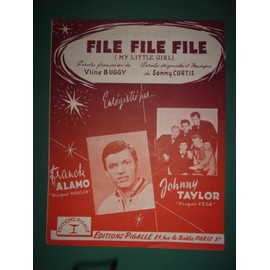 "Frank Alamo, Johnny Taylor ""File File File"""