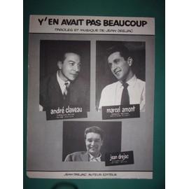 """Marcel Amont, André Claveau """"Y'en avait pas beaucoup"""""""