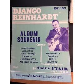 Django Reinhardt Album souvenir N°2