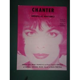 """mireille mathieu """"Chanter"""""""