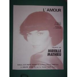 """mireille mathieu """"L'amour"""""""