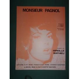 "mireille mathieu ""Monsieur Pagnol"""