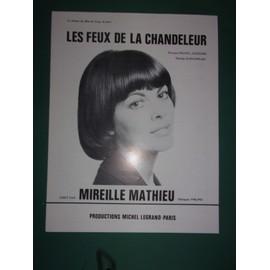 """mireille mathieu """"Les feux de la chandeleur"""""""