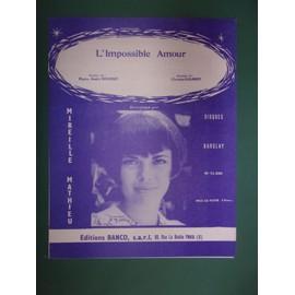 """mireille mathieu """"L'impossible amour"""""""