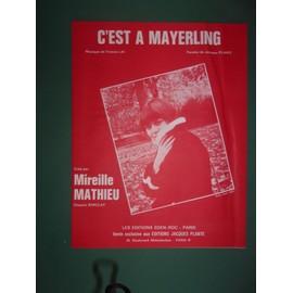 """mireille mathieu """"C'est à Mayerling"""""""