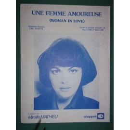 """mireille mathieu """"Une femme amoureuse"""""""