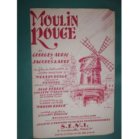 "georges auric ""Moulin rouge"""