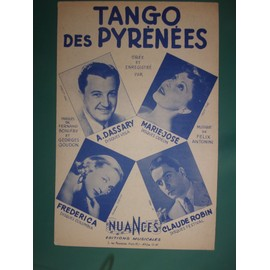 "andré dassary ""tango des pyrenées"""