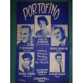 """yvette giraud dario moreno """"portofino"""""""