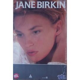 JANE BIRKIN 1ER CONCERT 1987 AFFICHE