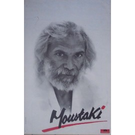 GEORGES MOUSTAKI AFFICHE
