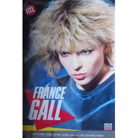 FRANCE GALL AFFICHE