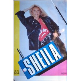 SHEILA - AFFICHE 118 x 80