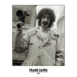 Frank Zappa - London 1971 - AFFICHE / POSTER envoi en tube - 59x84 cm