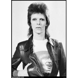 David Bowie - 1973 - AFFICHE / POSTER envoi en tube - 59x84 cm
