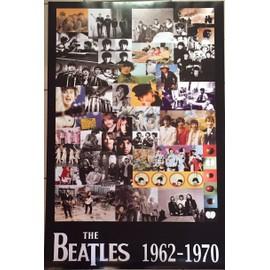 The Beatles - 1962 - 1970 - AFFICHE / POSTER envoi en tube - 60X85 cm