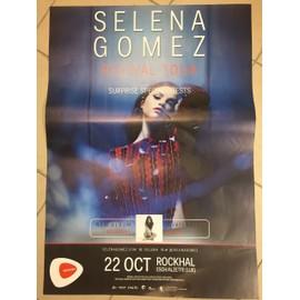Selena Gomez - Revival Tour 2016 - AFFICHE / POSTER envoi en tube - 60x80 cm