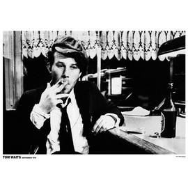 Tom Waits - Amsterdam 1976 - AFFICHE / POSTER envoi en tube - 59x84 cm