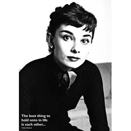 Audrey HEPBURN - The Best Thing - AFFICHE / POSTER envoi en tube - 59x84 cm