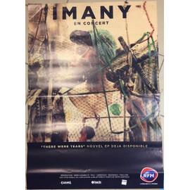 IMANY - En Concert - There Were Tears - AFFICHE / POSTER envoi en tube - 70x100 cm