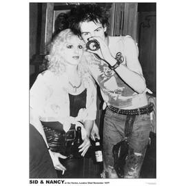 SID & NANCY - Sex Pistols - At the Vortex - November 1977 - AFFICHE / POSTER envoi en tube - 59x84 cm