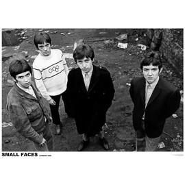 Small Faces - Londres 1965 - AFFICHE / POSTER envoi en tube - 59x84 cm