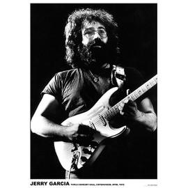 Jerry Garcia - Copenhagen - Avril 1972 - AFFICHE / POSTER envoi en tube - 59x84 cm