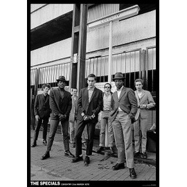 The Specials - Coventry Mars 1979 - AFFICHE / POSTER envoi en tube - 59x84 cm
