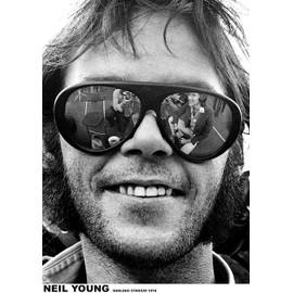 Neil Young - Oakland - 1974 - AFFICHE / POSTER envoi en tube - 59x84 cm