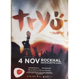 Tryö - Tour'16 - AFFICHE / POSTER envoi en tube - 60x80 cm