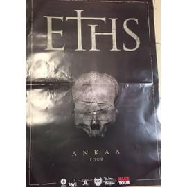 ETHS - ANKAA Tour - AFFICHE / POSTER envoi en tube - 80x120 cm