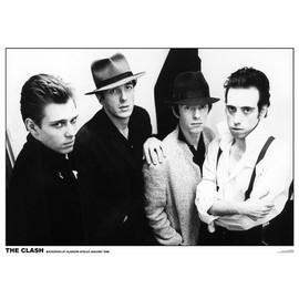 The Clash - Glasgow - janvier 1980 - AFFICHE / POSTER envoi en tube - 59x84 cm