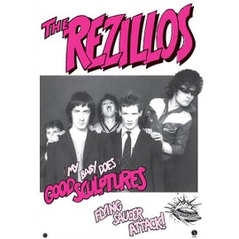 The Rezillos - Good Sculptures - AFFICHE / POSTER envoi en tube - 59x84 cm