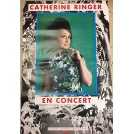 Catherine RINGER - En Concert - AFFICHE / POSTER envoi en tube - 80x120 cm