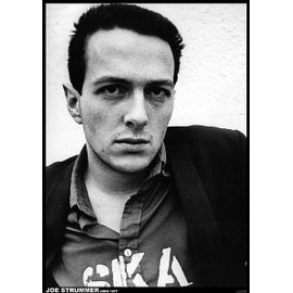 Joe Strummer - The Clash - juin 1977 - AFFICHE / POSTER envoi en tube - 59x84 cm