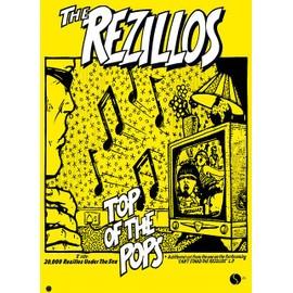 The Rezillos - Top Of The Pops - AFFICHE / POSTER envoi en tube - 59x84 cm