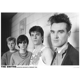 The Smiths - Leicester February 1984 - AFFICHE / POSTER envoi en tube - 59x84 cm