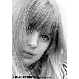 Marianne Faithfull - Kensington - London 1964 - AFFICHE / POSTER envoi en tube - 59x84 cm