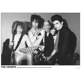 The Cramps - Camden Town - Mars 1980 - AFFICHE / POSTER envoi en tube - 59x84 cm