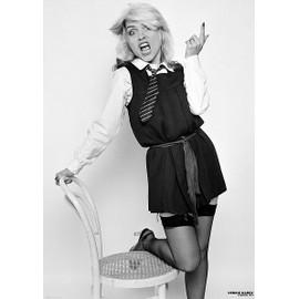 Debbie Harry - London 1979 / Blondie - AFFICHE / POSTER envoi en tube - 59x84 cm