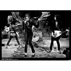 New York Dolls - Hilversum 1973 - AFFICHE / POSTER envoi en tube - 59x84 cm
