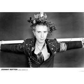 Johnny ROTTEN - Sex Pistols - London 1976 - AFFICHE / POSTER envoi en tube - 59x84 cm