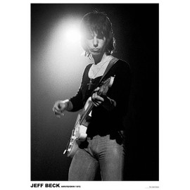 Jeff BECK - Amsterdam 1972 - AFFICHE / POSTER envoi en tube - 59x84 cm