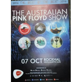 The Australian Pink Floyd - - AFFICHE / POSTER envoi en tube - 60x84 cm