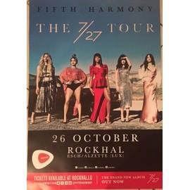 Fifth Harmony - The 7/27 Tour - AFFICHE / POSTER envoi en tube - 60x80 cm