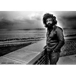 Jerry Garcia - Copenhagen 1971 - AFFICHE / POSTER envoi en tube - 59x84 cm