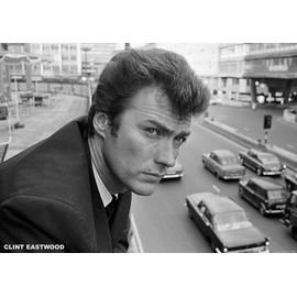 Clint Eastwood - - AFFICHE / POSTER envoi en tube - 59x84 cm